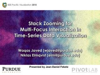 Stack Zooming  for Multi-Focus Interaction in Time-Series  Data Visualization