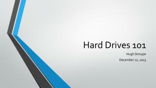 Hard Drives 101