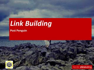 Link Building Post Penguin