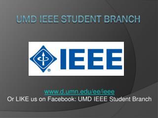 UMD IEEE Student branch