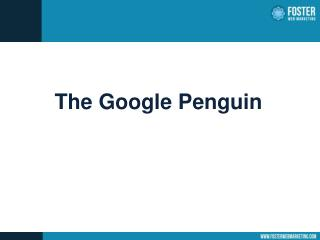 The Google Penguin
