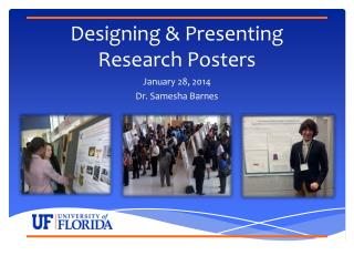 Designing & Presenting Research Posters