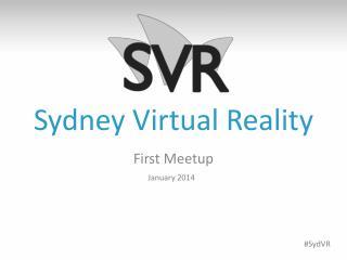 Sydney Virtual Reality
