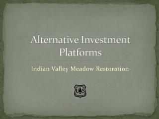 Alternative Investment Platforms