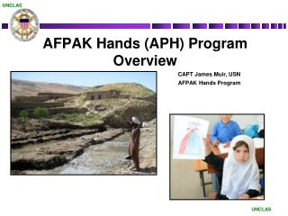 AFPAK Hands (APH) Program Overview