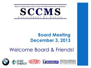 Board Meeting  December 3, 2013