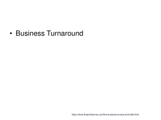 The Business  Turnaround