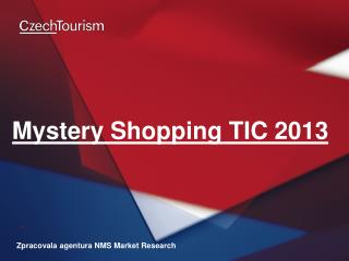 Mystery Shopping TIC 2013