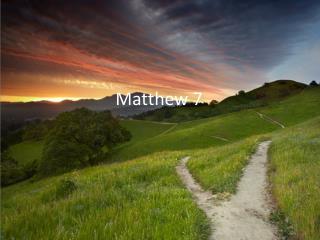 Matthew 7