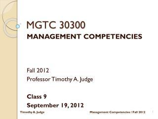 MGTC 30300