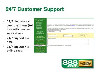 24/7  live support over the phone (toll free with personal support rep) 24/7 support via email.