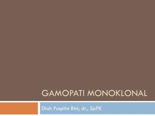 Gamopati monoklonal
