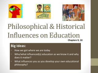 Philosophical & Historical Influences on Education