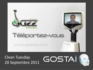 Clean Tuesday 20 Septembre 2011