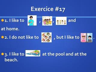 Exercice  #17