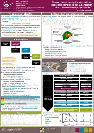 Validation suivant 4 Critères  [Shah et al. 2003]  : Quantité Variété Nouveauté Qualité