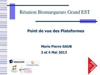 Marie Pierre  GAUB  3 et 4 Mai 2013