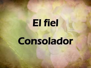 El  fiel Consolador