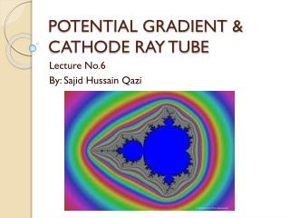 POTENTIAL GRADIENT & CATHODE RAY TUBE