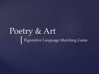Poetry & Art