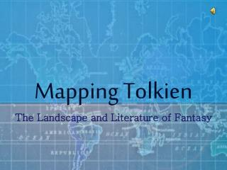 Mapping Tolkien