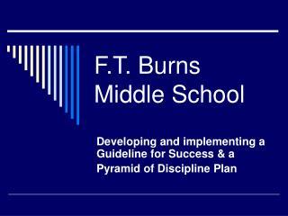 F.T. Burns Middle School