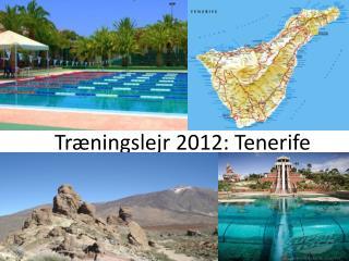 Træningslejr 2012: Tenerife