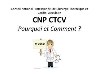 Conseil National Professionnel de Chirurgie Thoracique et Cardio-Vasculaire
