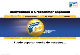 Bienvenidos a Cretschmar Espa ola