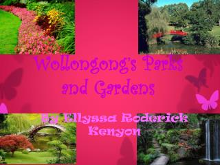 Wollongong's Parks and Gardens