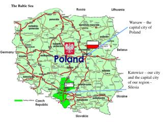 Warsaw –  the  capital city of Poland