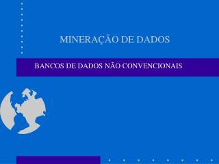 MINERA  O DE DADOS