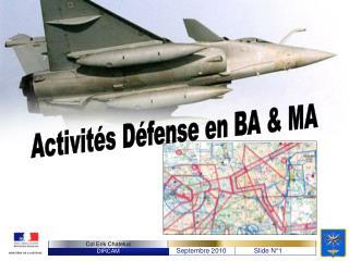 Activit s D fense en BA  MA
