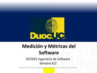 Medición y Métricas del Software