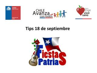 Tips 18  de septiembre