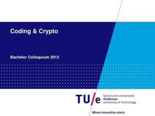 Coding & Crypto