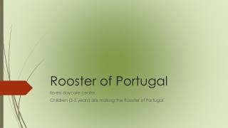 Rooster  of Portugal