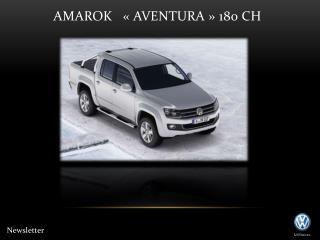 Amarok   «AVENTURA» 180 CH