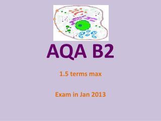AQA B2