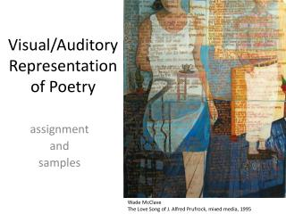 Visual/Auditory Representation of Poetry