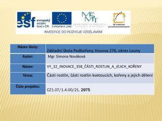 Datum vytvoření  : 19.02.2012