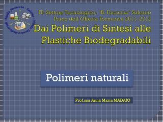 Polimeri naturali