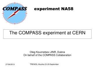 experiment  NA58