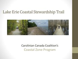 Lake Erie Coastal Stewardship Trail