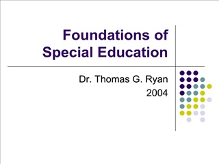 Foundations of Special Education