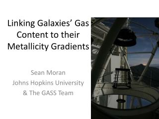 Linking Galaxies' Gas Content to their Metallicity Gradients