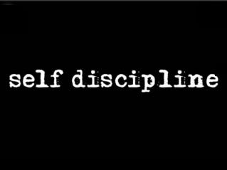 """ Discipline yourself so no one else has to"" -John Wooden"