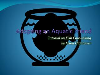 Adopting an Aquatic Friend