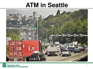 ATM in Seattle