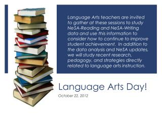 Language Arts Day!